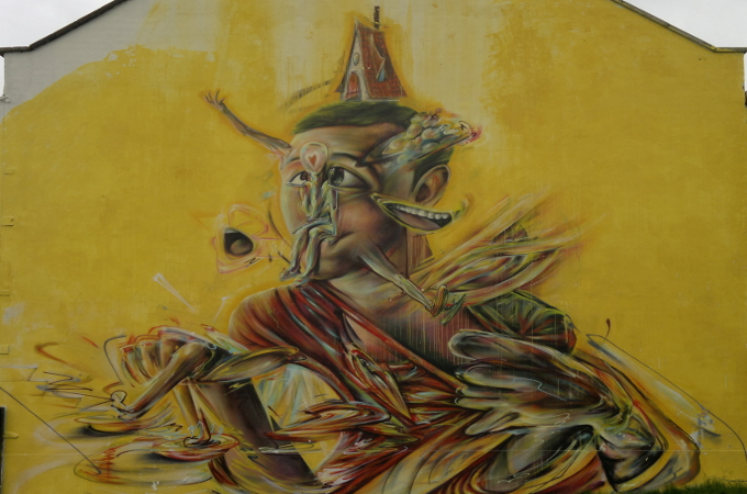 Multitasking-the-death-of-focus-Bristol-street-art