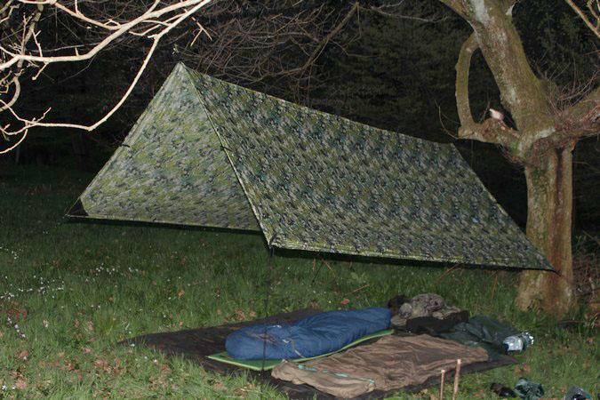 Wild Camping - Frame Tarp